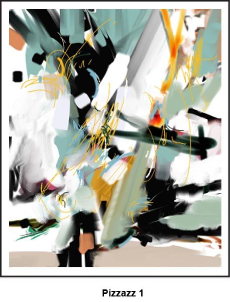 Pizzazz...Digital abstract