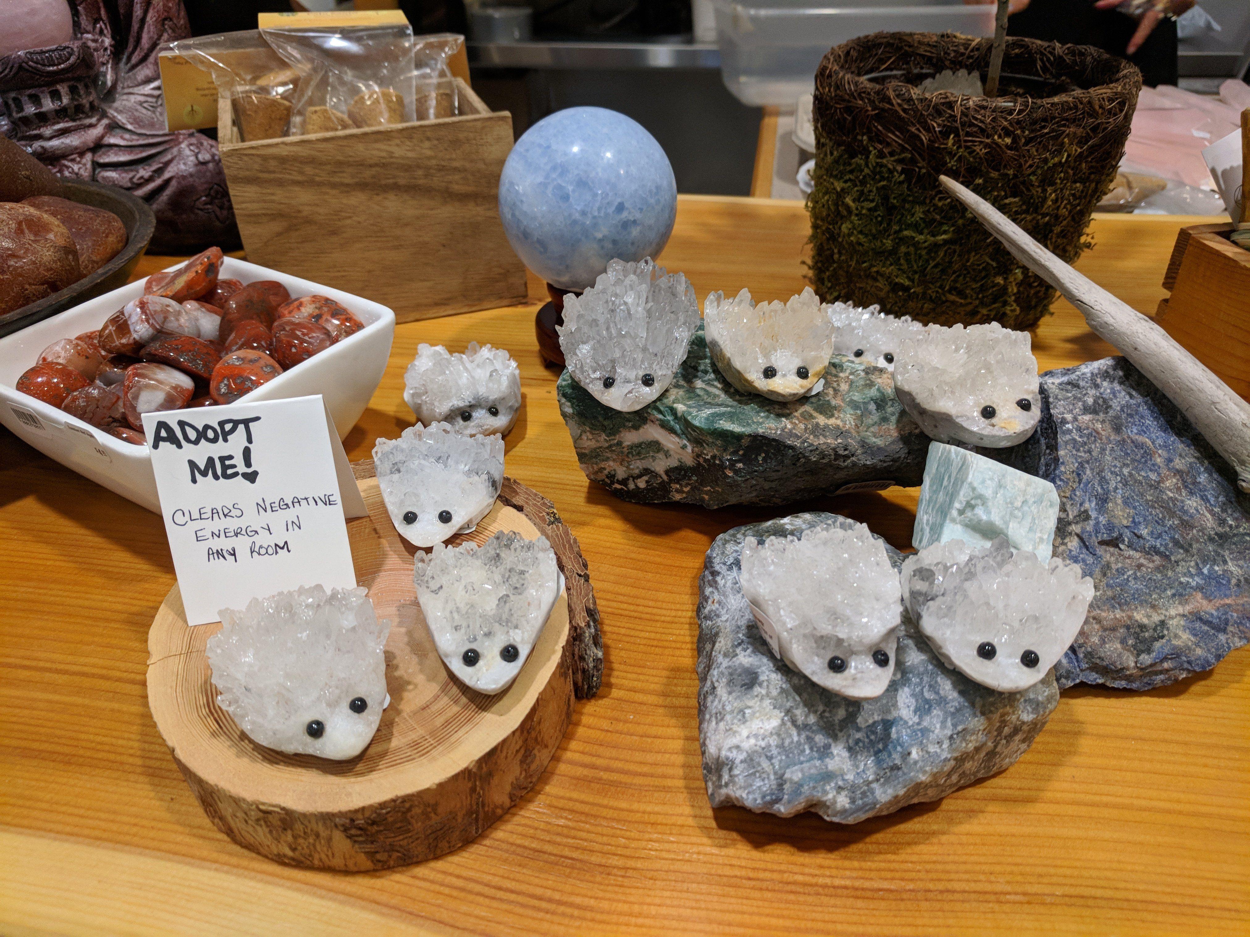 Adopt Me Quartz Cluster Carved Hedgehog Pet Hedgehog Pet