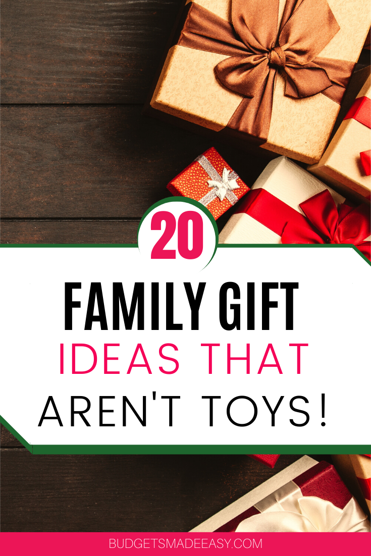 20 Family Gift Ideas the Whole Family will LOVE