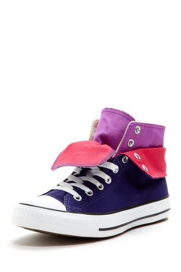 Foldover High Top Sneaker by Converse