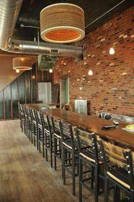 Bourbon Barrel Bar Stools The Blind Pig Louisville