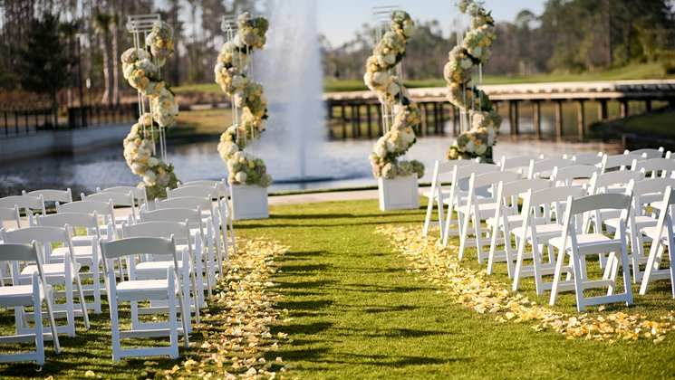 wedding small outdoor wedding venues