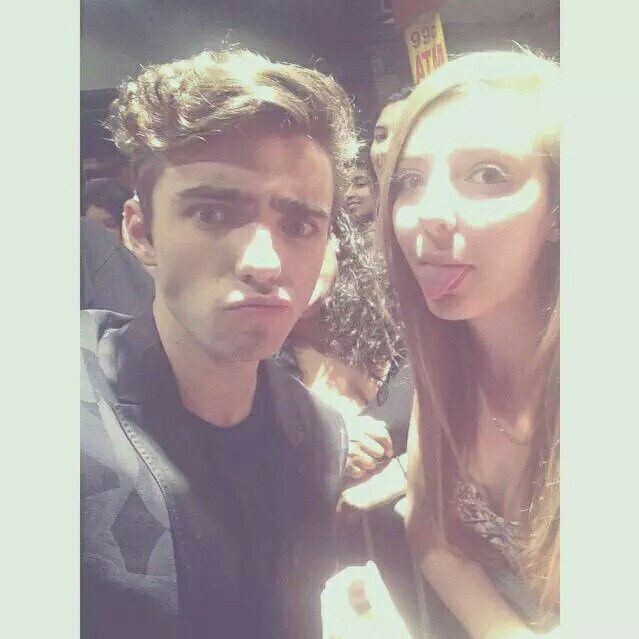 Nathan with fans