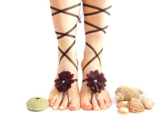 b204a28a94eb5 Wedding Barefoot Sandal