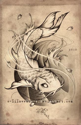 Matsya Poisson Chat Croquis Pinterest Koi Tattoo And Tatoo