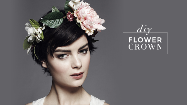 How to Make a Flower Crown in 4 Steps
