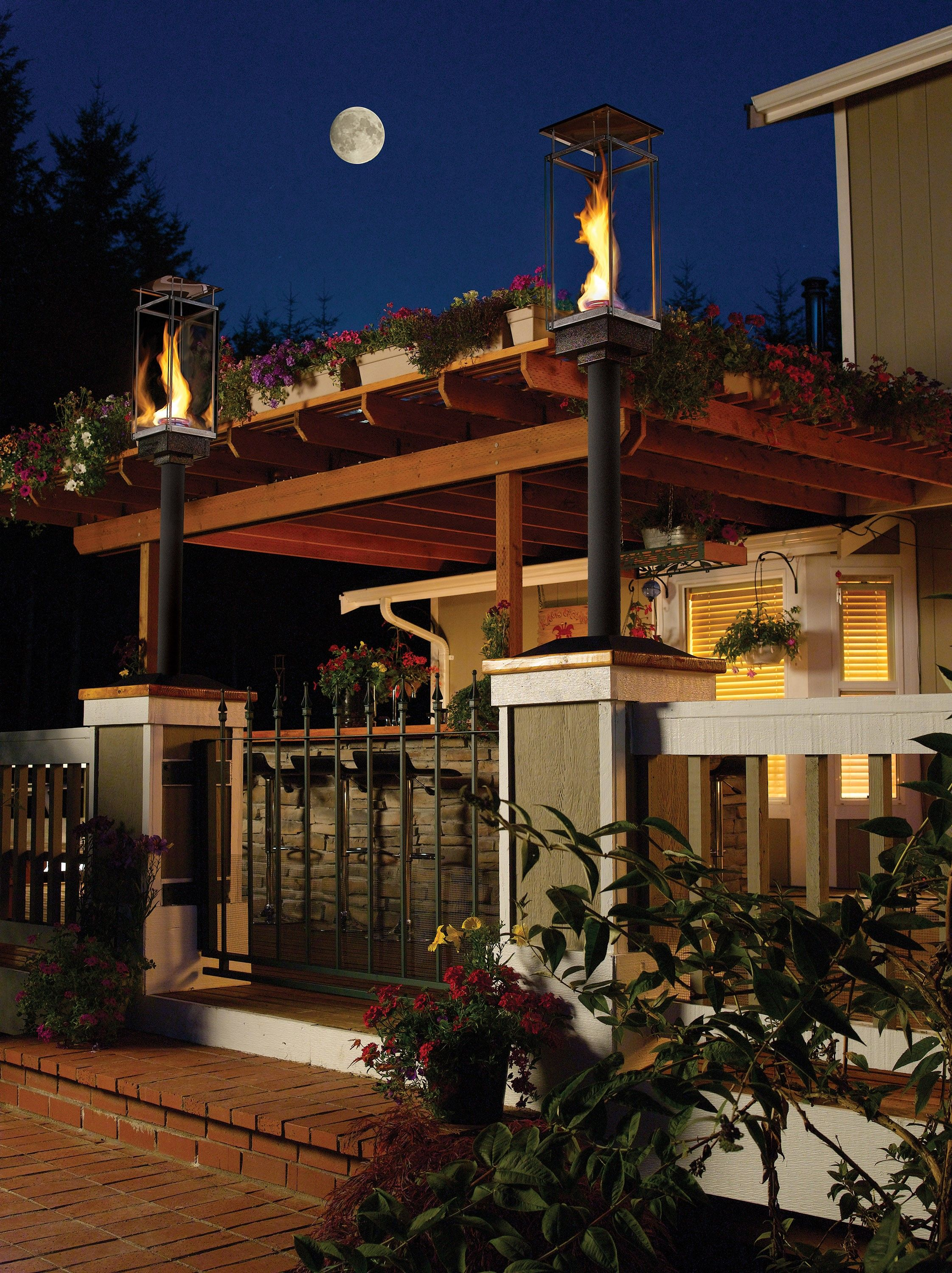 travis industries tempest torch head outdoor living on stunning backyard lighting design decor and remodel ideas sources to understand id=44105