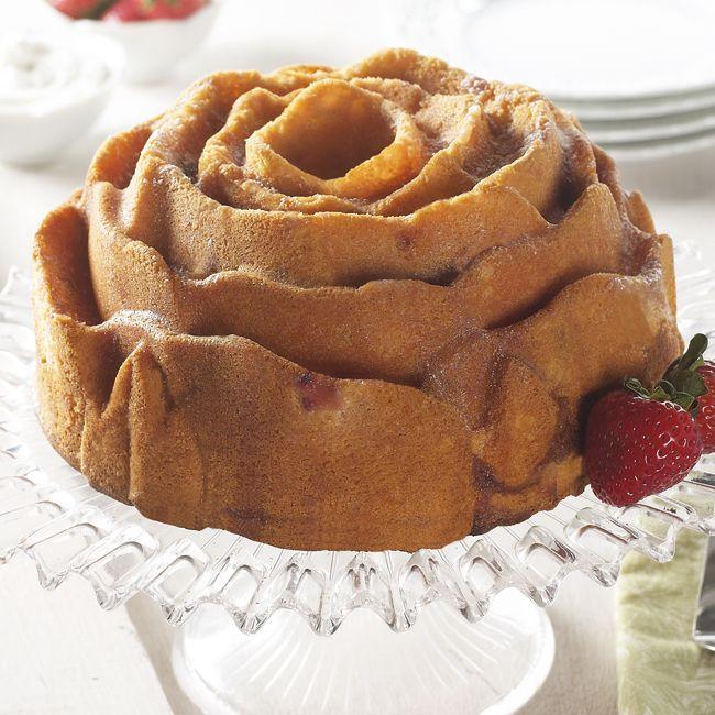 Liefde Is Zo Fleurig Als Een Roosvormige Cake Bak Er 1