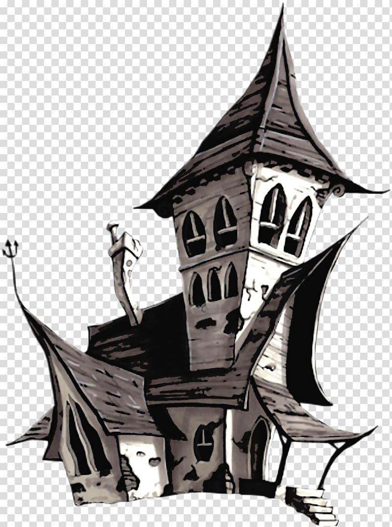 Halloween Jack O Lantern Halloween White House Black And Gray House Illustration Transpare In 2020 Halloween Jack Halloween Jack O Lanterns Halloween Illustration