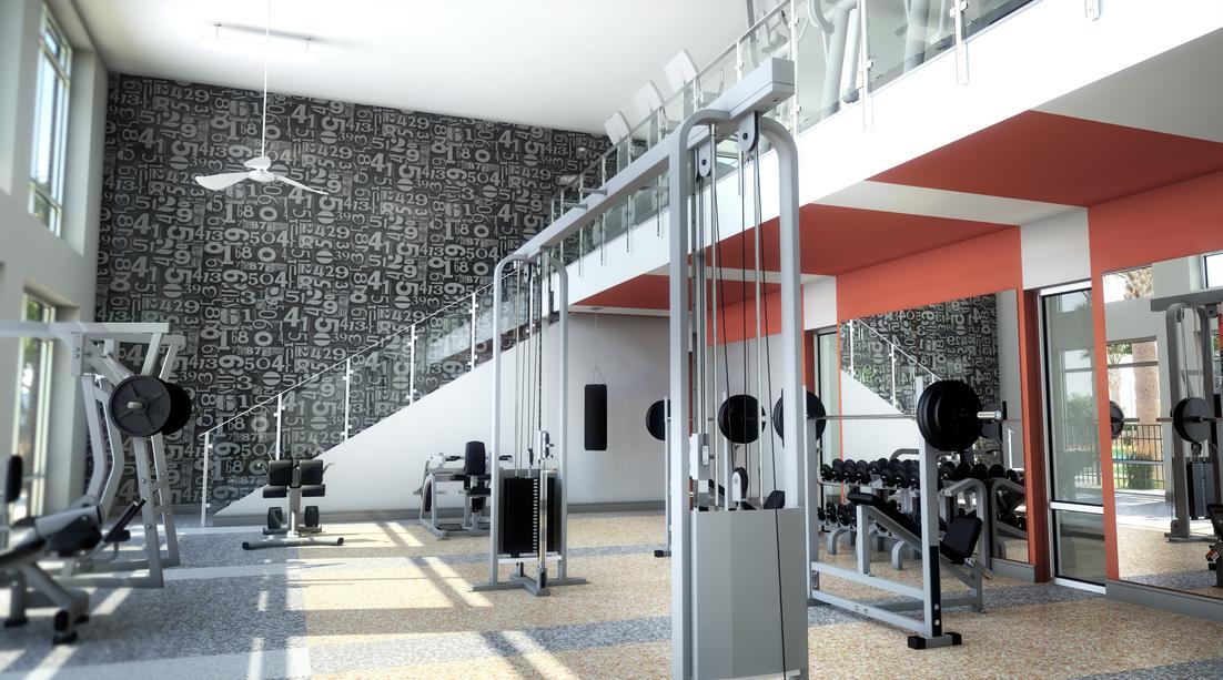 Fitness Center At Luxx UTSA