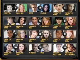 who are the characters in hunger games