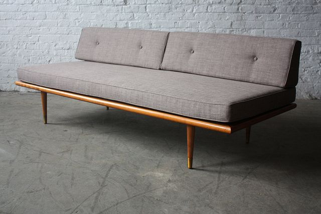 Assured Mid Century Modern Daybed Sofa U S A 1960s Mid Century Modern Daybed Modern Daybed Mid Century
