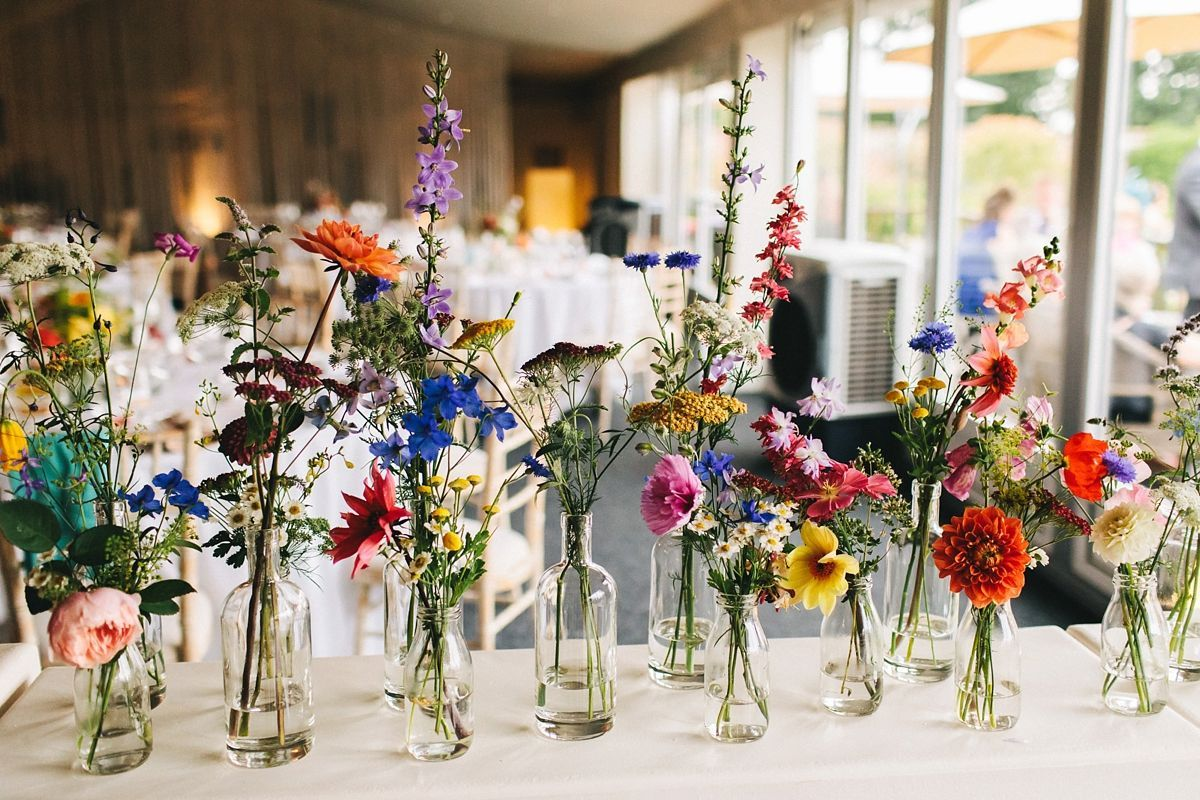 A Stella York Bride for a Match.com Wedding with a Thousand Paper Cranes