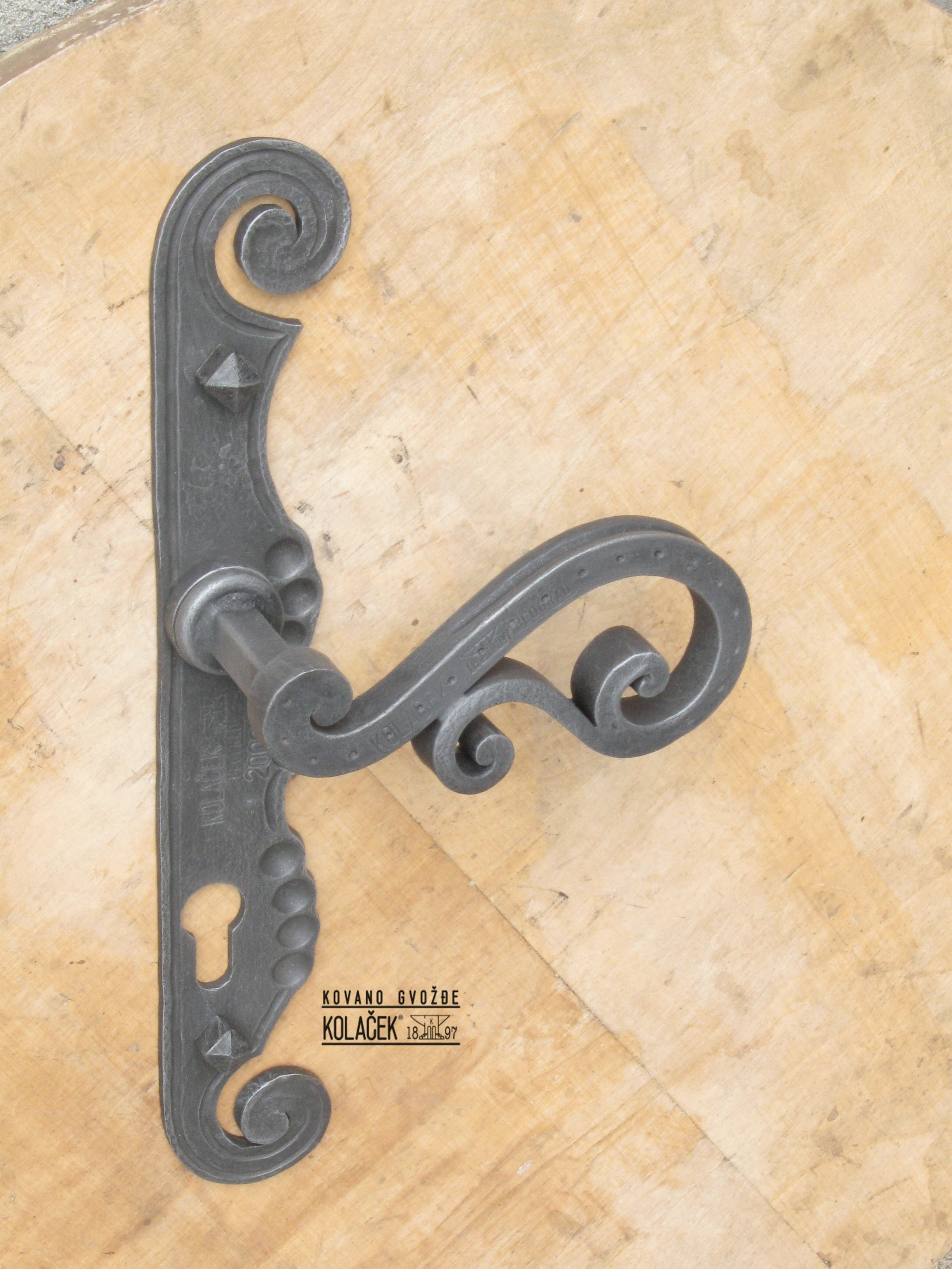 Awesome Wrought Iron Cabinet Handles