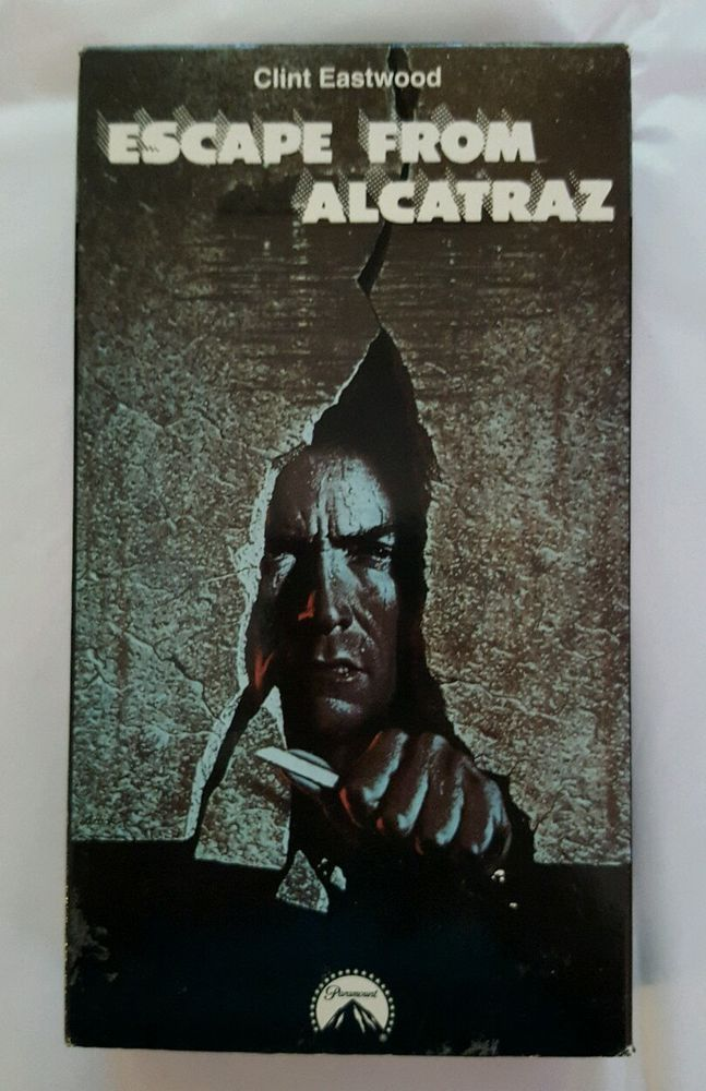 Escape From Alcatraz Vhs 1990 Clint Eastwood In Dvds Movies