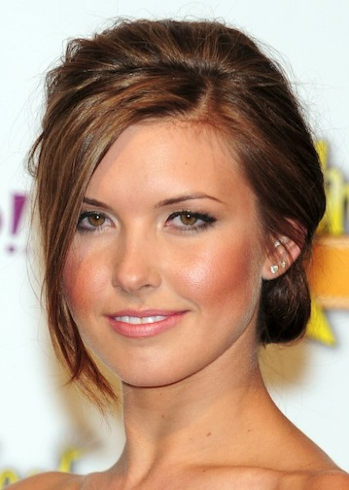 hair styles for an oval face updo hairstyle picture audrina patridge hair up style 3893 | 746eec3893a6155f04b79dfd3fdc4944