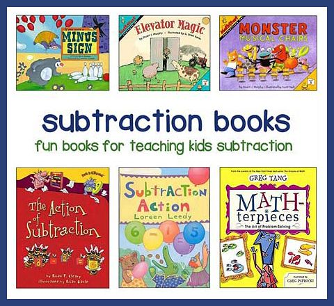 Popular Addition and Subtraction Books