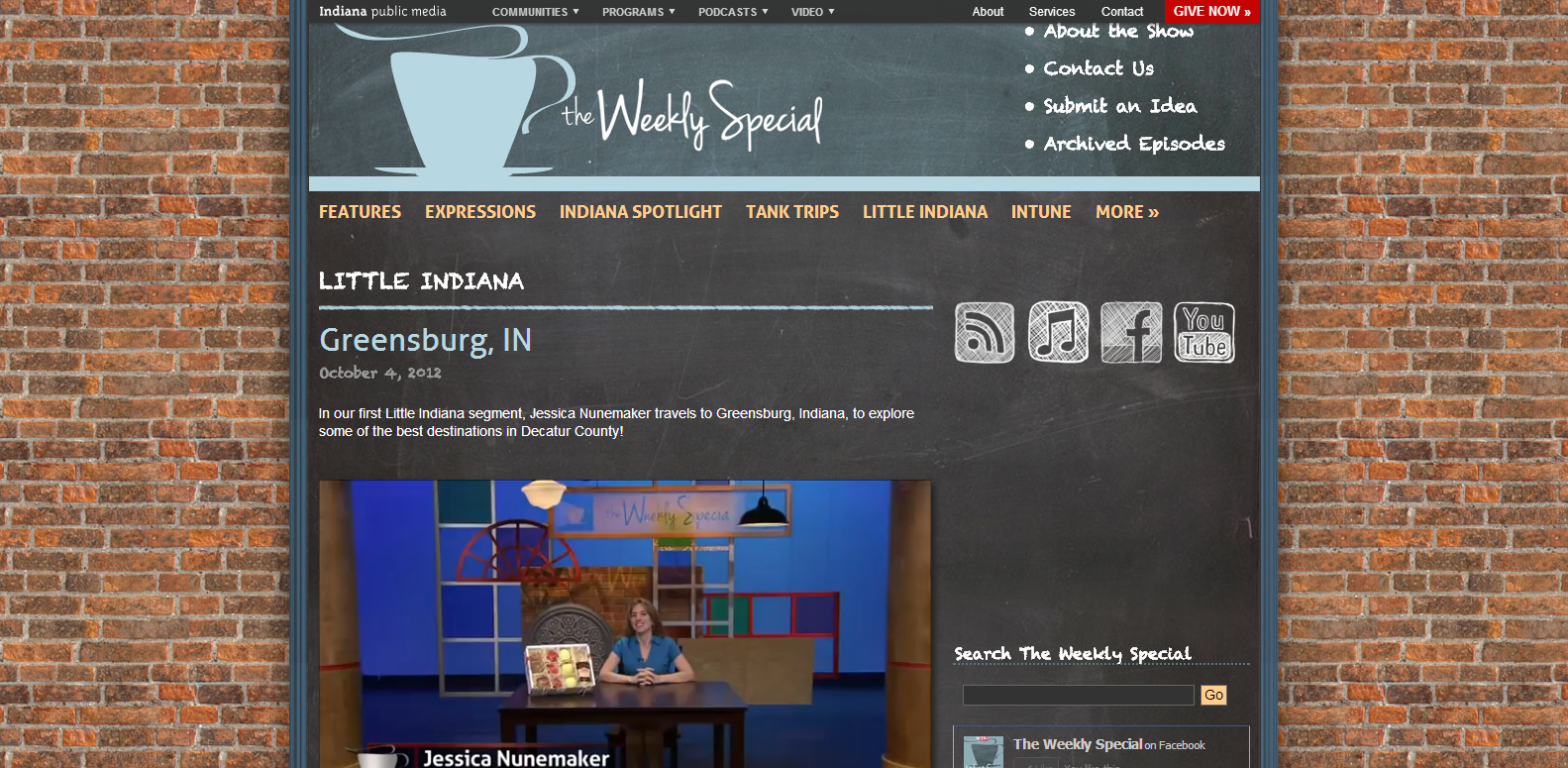 on PBS Watch Greensburg, Indiana Video (With images