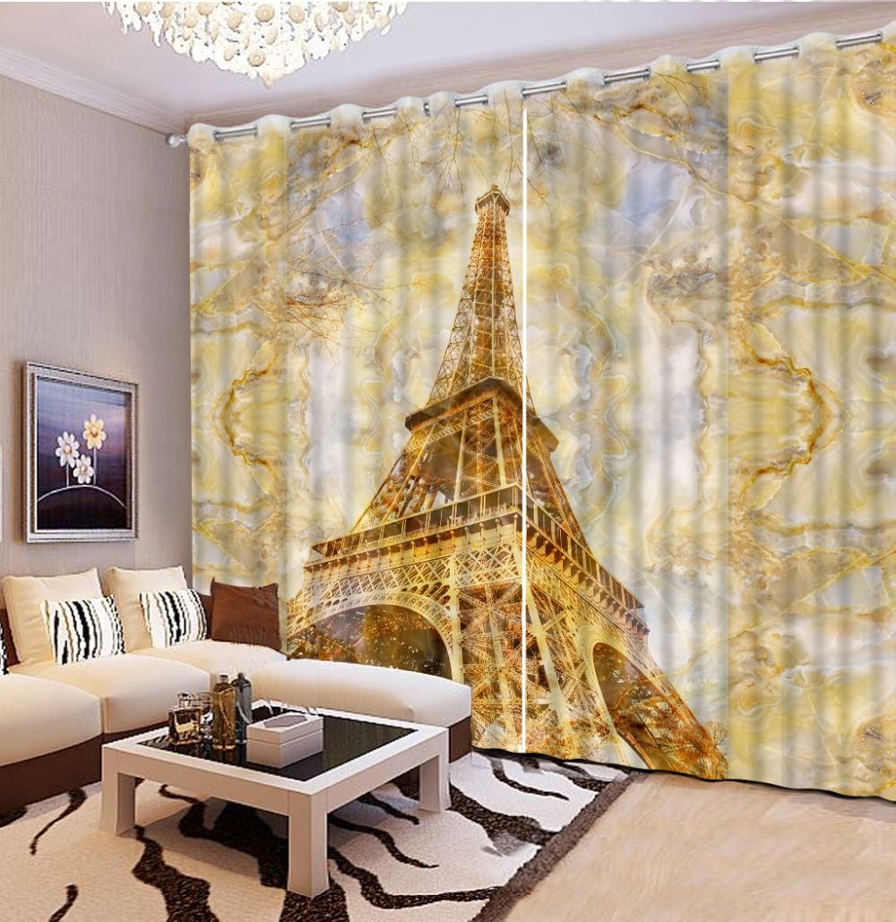 Newest 3D Printing Curtains Hight Quality Blackout Cortians Full ...