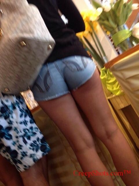 Nice booty in tight jean shorts http://shar.es/1gQYgE | J | Pinterest