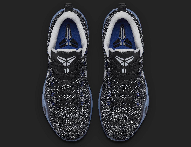 premium selection ad0d4 217c8 HTM Nike Kobe 10 Elite Black White Blue   Sole Collector