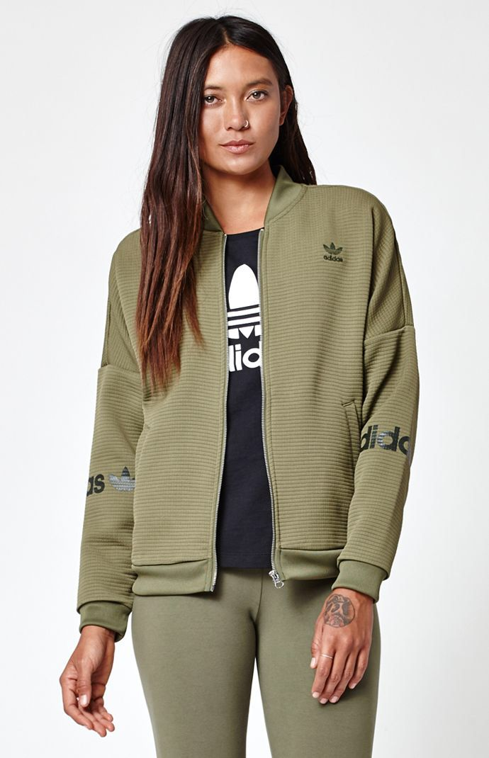 dba1f7c72 Hooked on 3-Stripes Track Jacket that I found on the PacSun App ...