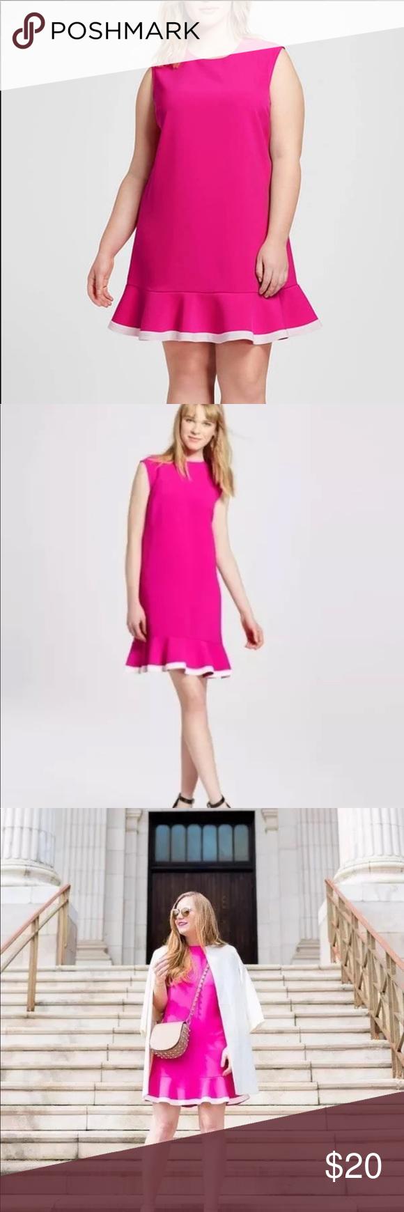 Victoria Beckham For Target Pink Dress Size 2x Victoria Beckham Target Pink Dress Victoria Beckham [ 1740 x 580 Pixel ]