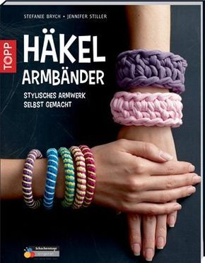 Anleitungen Armbänder Häkeln 3 Ideen Zum Selbermachen Pinterest