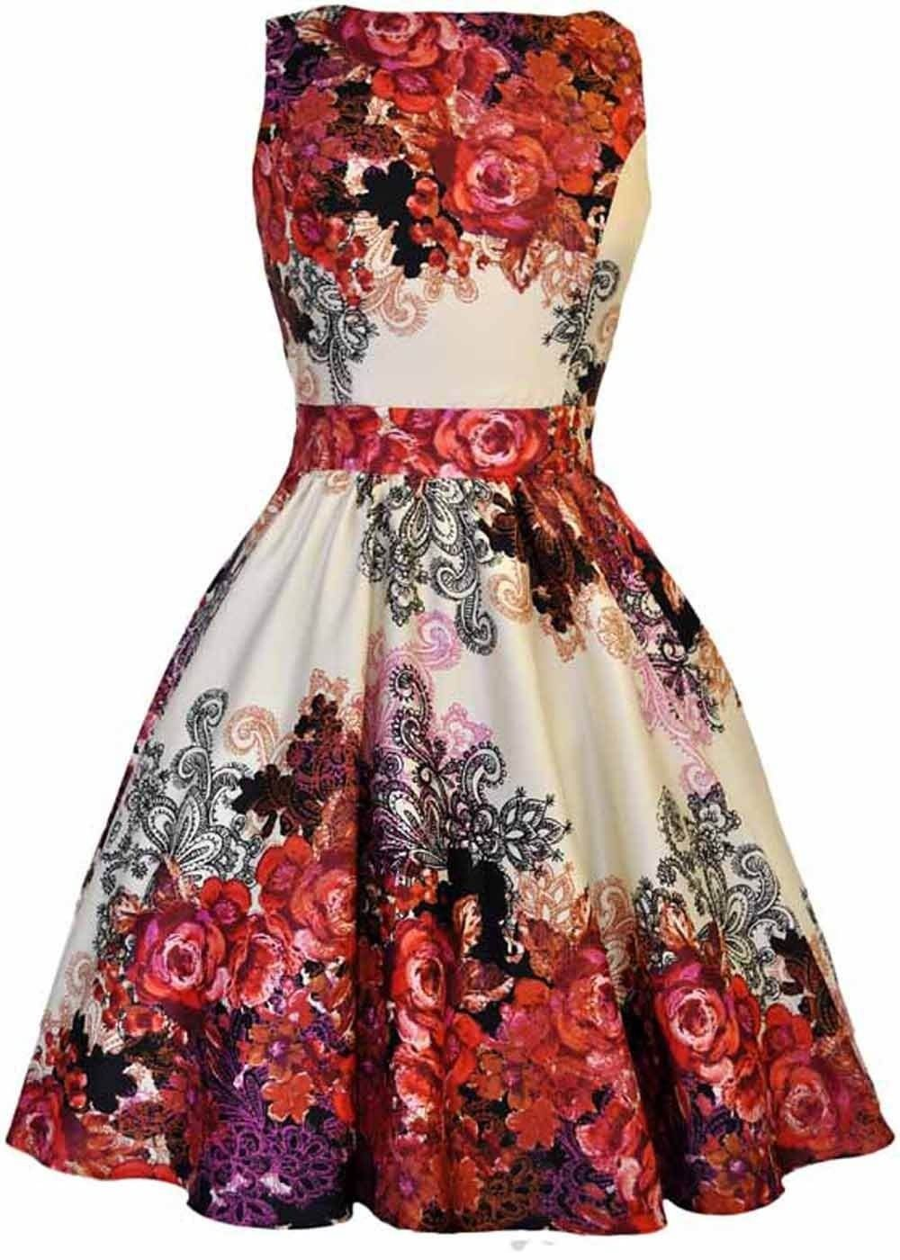 Lady V Abby Rose Collage Kleid Rot   Kleider Tine   Pinterest ... c81aa1f6a2