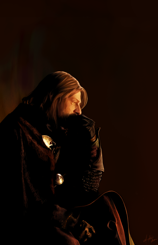 Boromir by AmandaTolleson