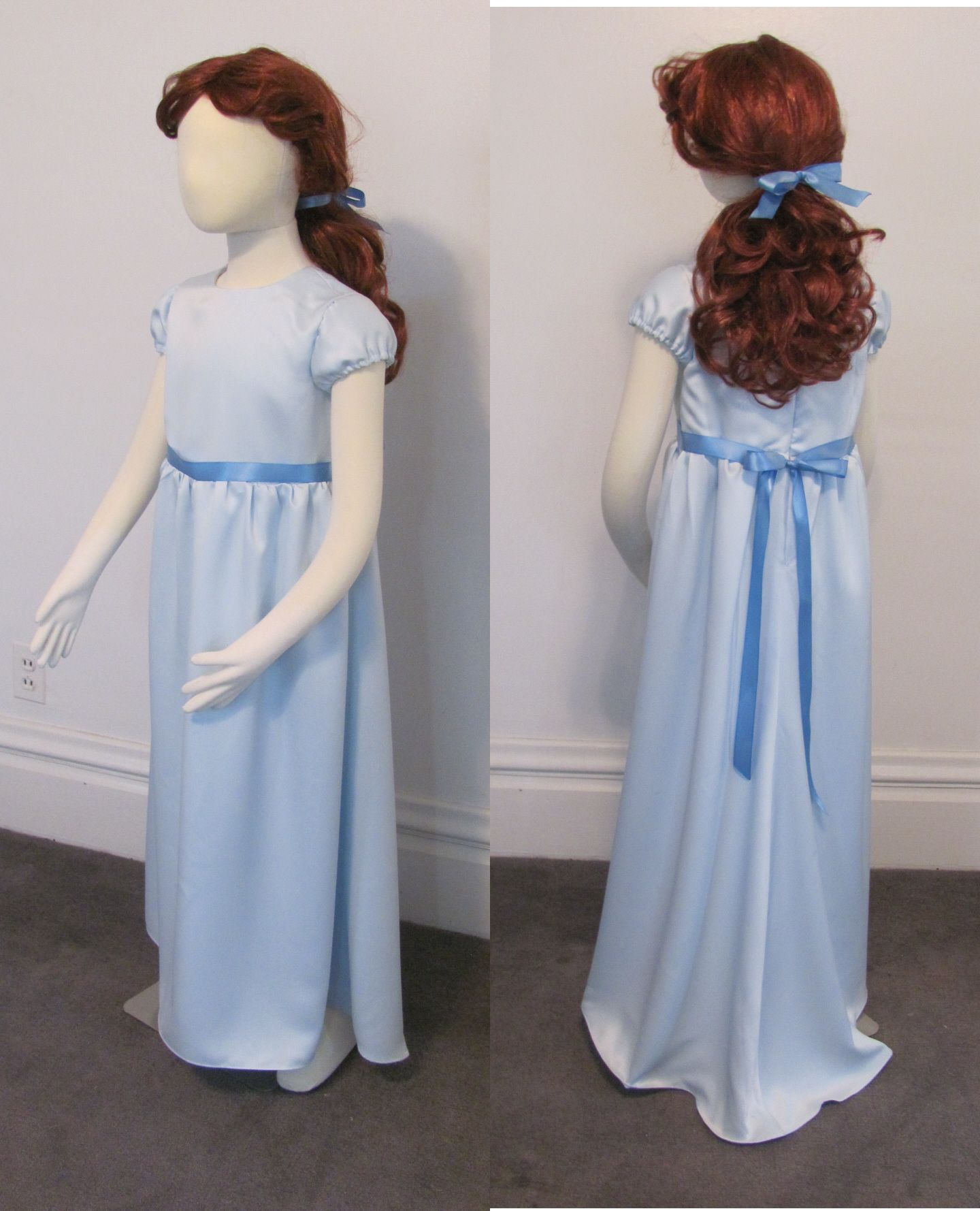 da35ff38a9 Wendy Darling costume for girls from Peter Pan