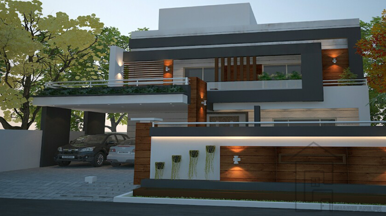 Front Elevation Designs In Islamabad : Marla pakistani house front elevation this size is