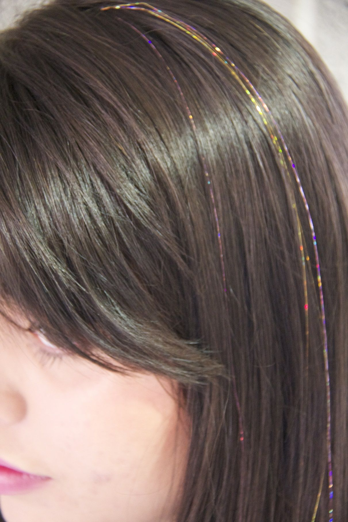 Glitter Hair Tinsel