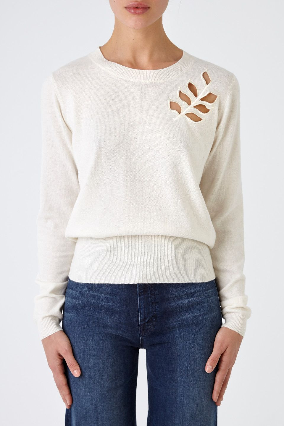 SWEATER WITH FLOWER SEE BY CHLOÉ