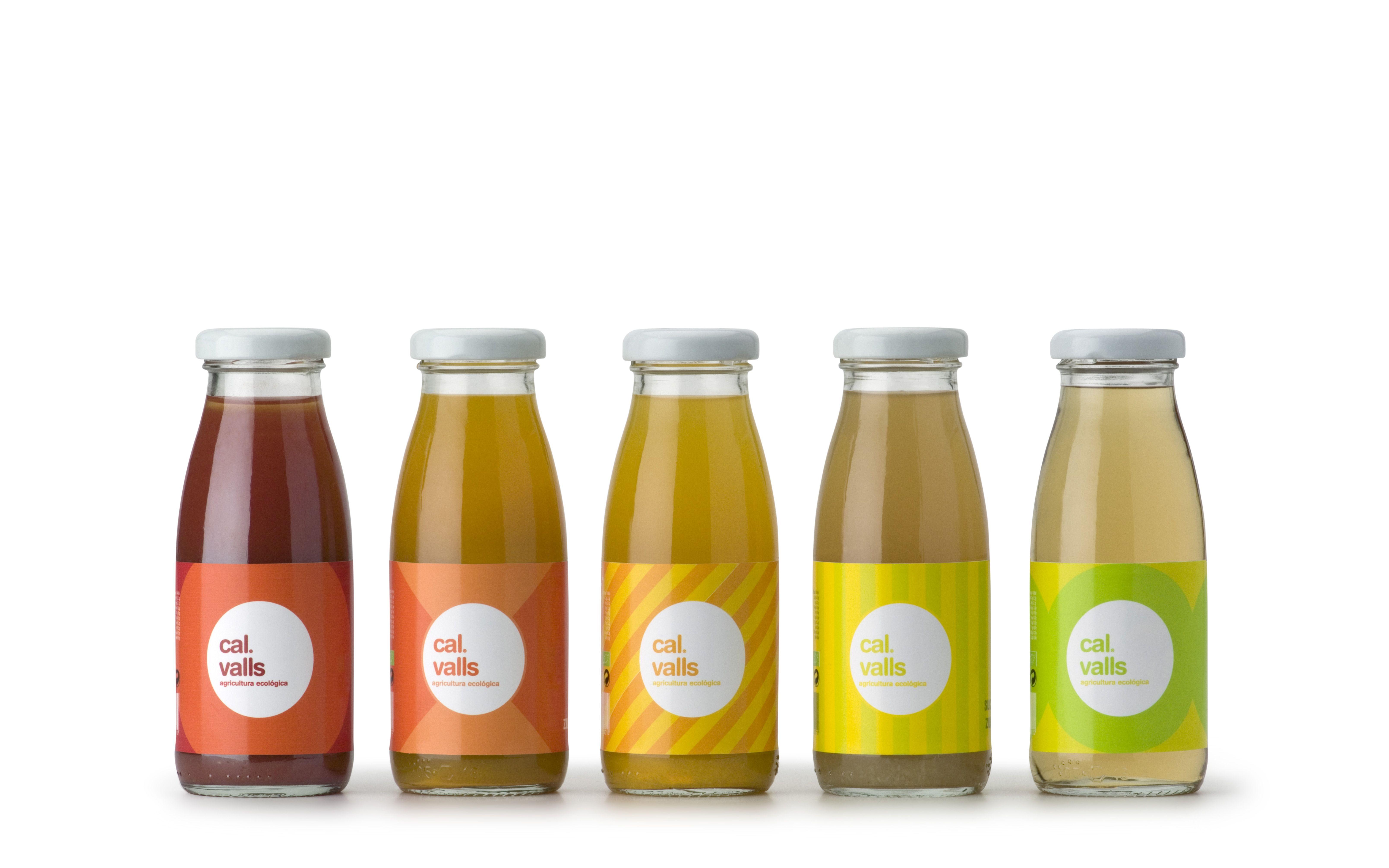 Packaging Cal Valls By Xavier Olive Envases De Jugo