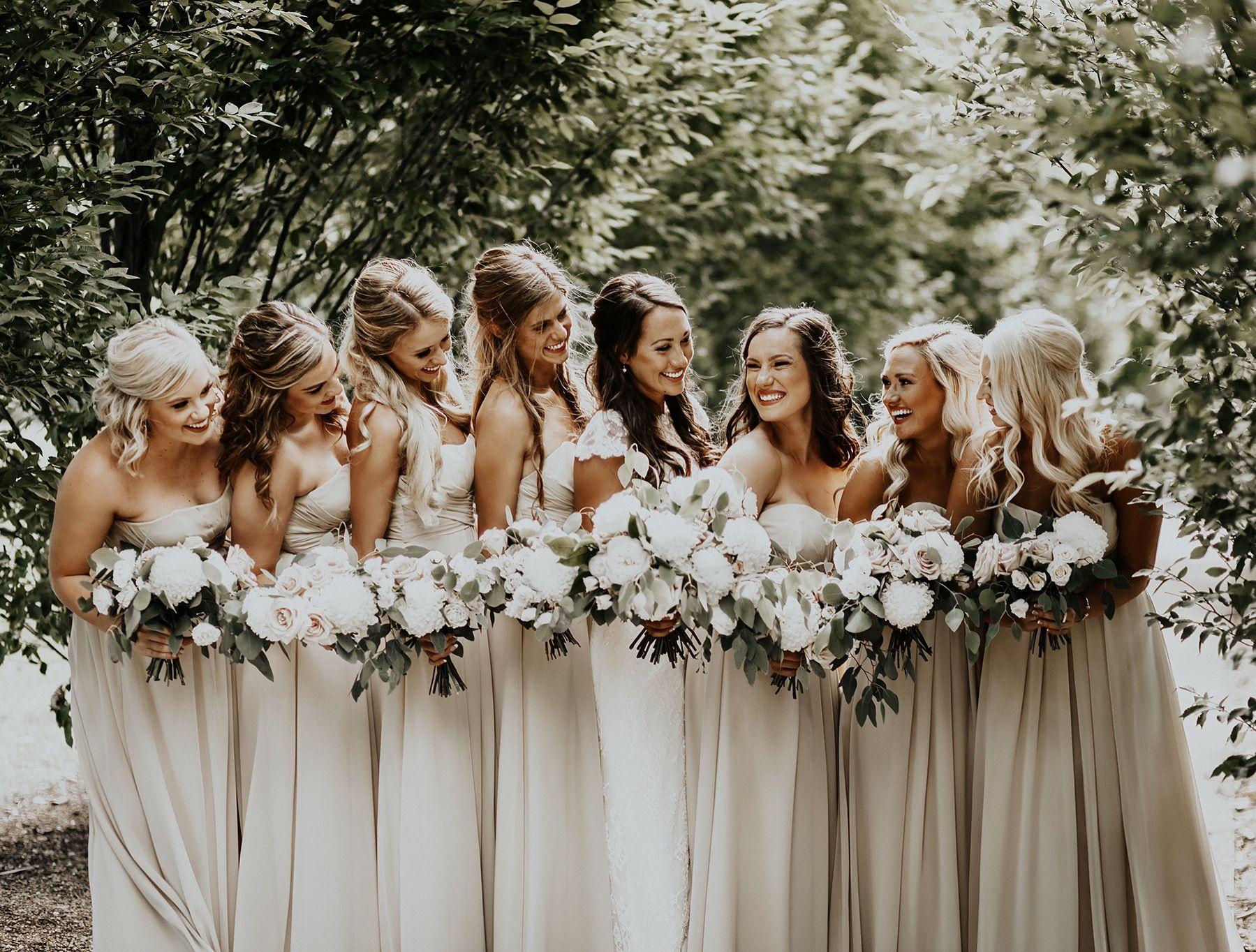 Neutral bridesmaid dresses lindsey dian photography pinterest neutral bridesmaid dresses ombrellifo Images