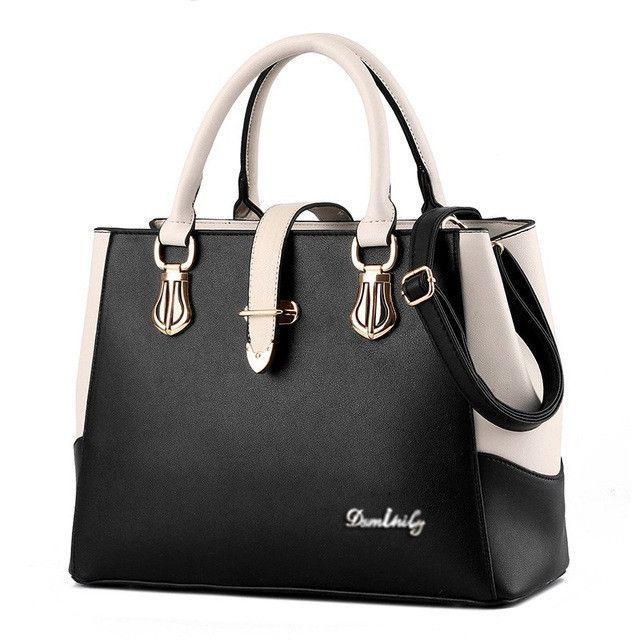 00fe4bf57ef SMINICA Designer Handbags High Quality Women Bag Fashion Brand Ladies hand bag  Big Pu Leather Lady