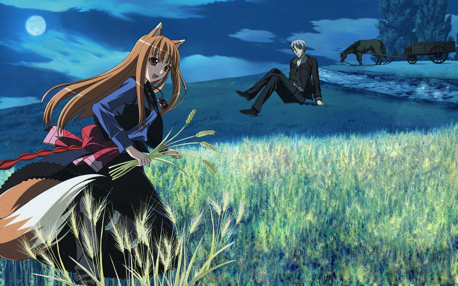 Horo Wallpaper Spice and wolf by Ilzar on DeviantArt