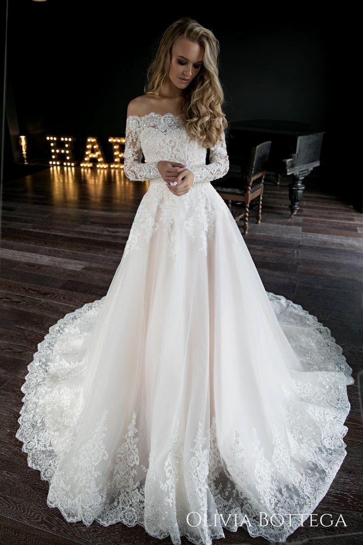 29 Great A-Line Wedding Dresses#dressforwedding #weddingdresses
