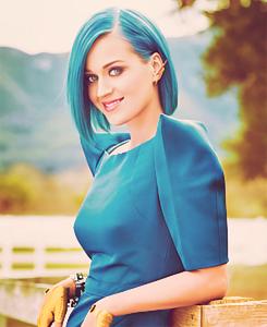 Blue Hair Katy Perry Photos Katy Perry Hot Katy Perry Music