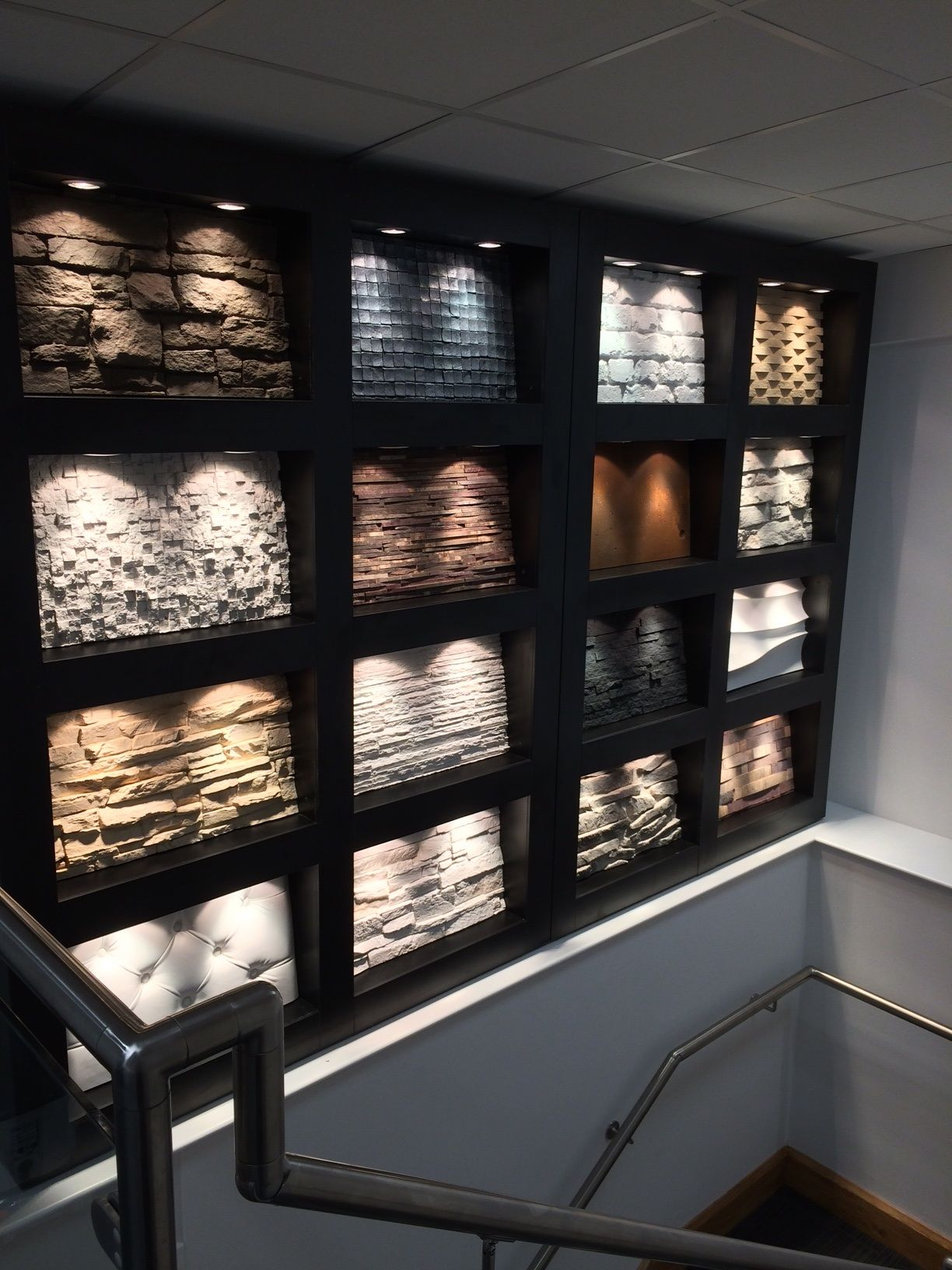 Stoke On Trent Showroom Faux Brick Panels Faux Brick Wall Panels Brick Wall Paneling