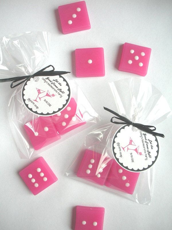 15 Dice Bunco Las Vegas Wedding Soap Party Favors 22 50 Via Etsy Would Be A Cute Favor Could Use Starburst Cans
