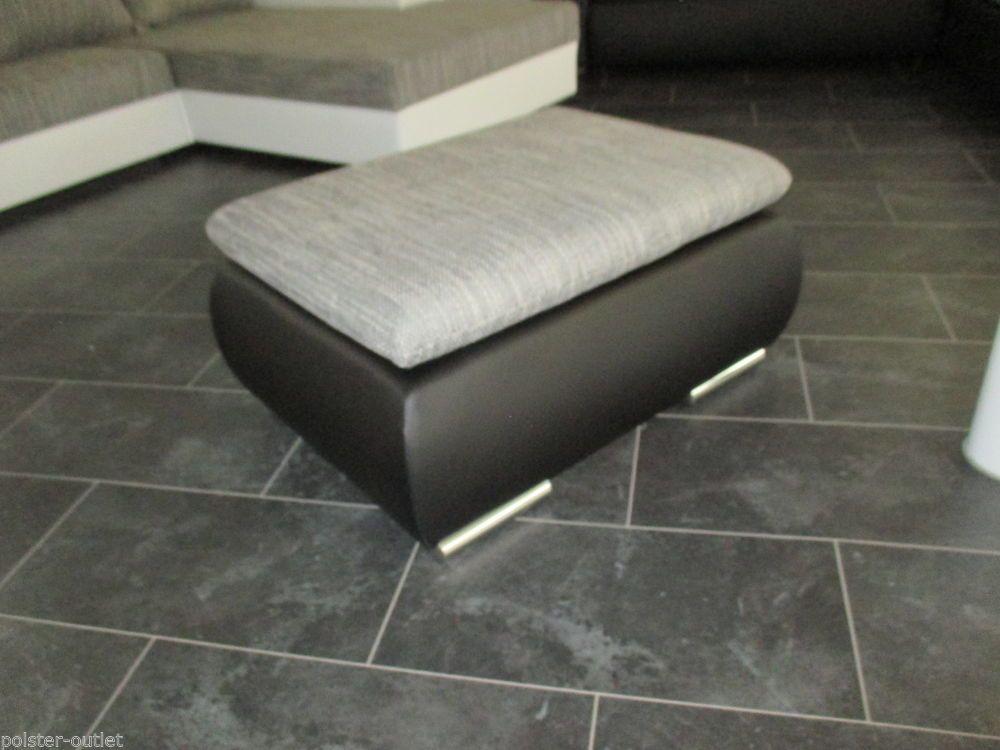 Hocker sitzw rfel zu bettsofa sofa couch schlafcouch for Lagerverkauf wohnlandschaft