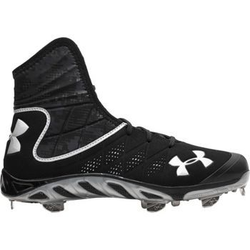 Under Armour Men\u0027s Spine Highlight ST Metal Baseball Cleats | Baseball  Express