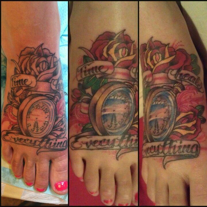 Tattoos Healing Time: Tattoos, Time Heals Everything