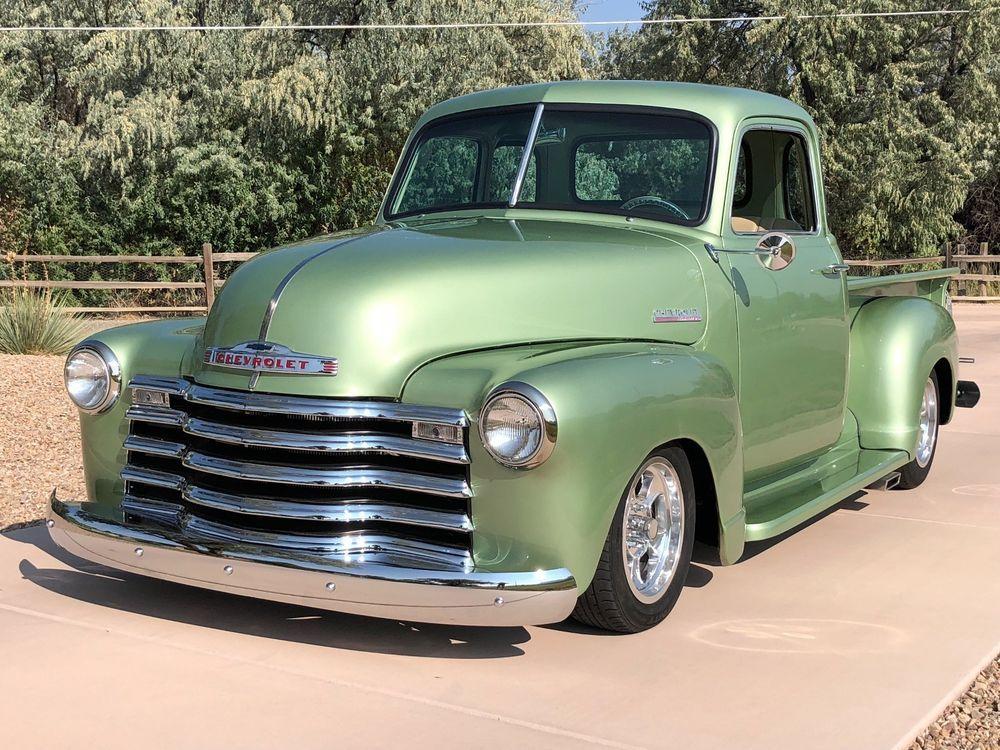1953 Chevrolet Pickup Truck Chevy Pickup 5 Window Fantomworks Build Old 1950 S Trucks For Sale Vintage Clas Classic Chevy Trucks Chevy Trucks Cars For Sale