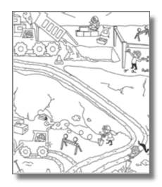 at the construction site coloring pages do you want to be a ... - Construction Worker Coloring Pages