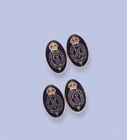 George III Coin WC40B Pair of Cufflinks Made From English Modern Pewter cuff link cufflink