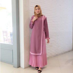 Gamis Terbaru 2020 Simple Jual Gamis Syar I Cantik Terbaru Murah Gamis Online Murah Gaun Lengan Panjang Wanita Kain