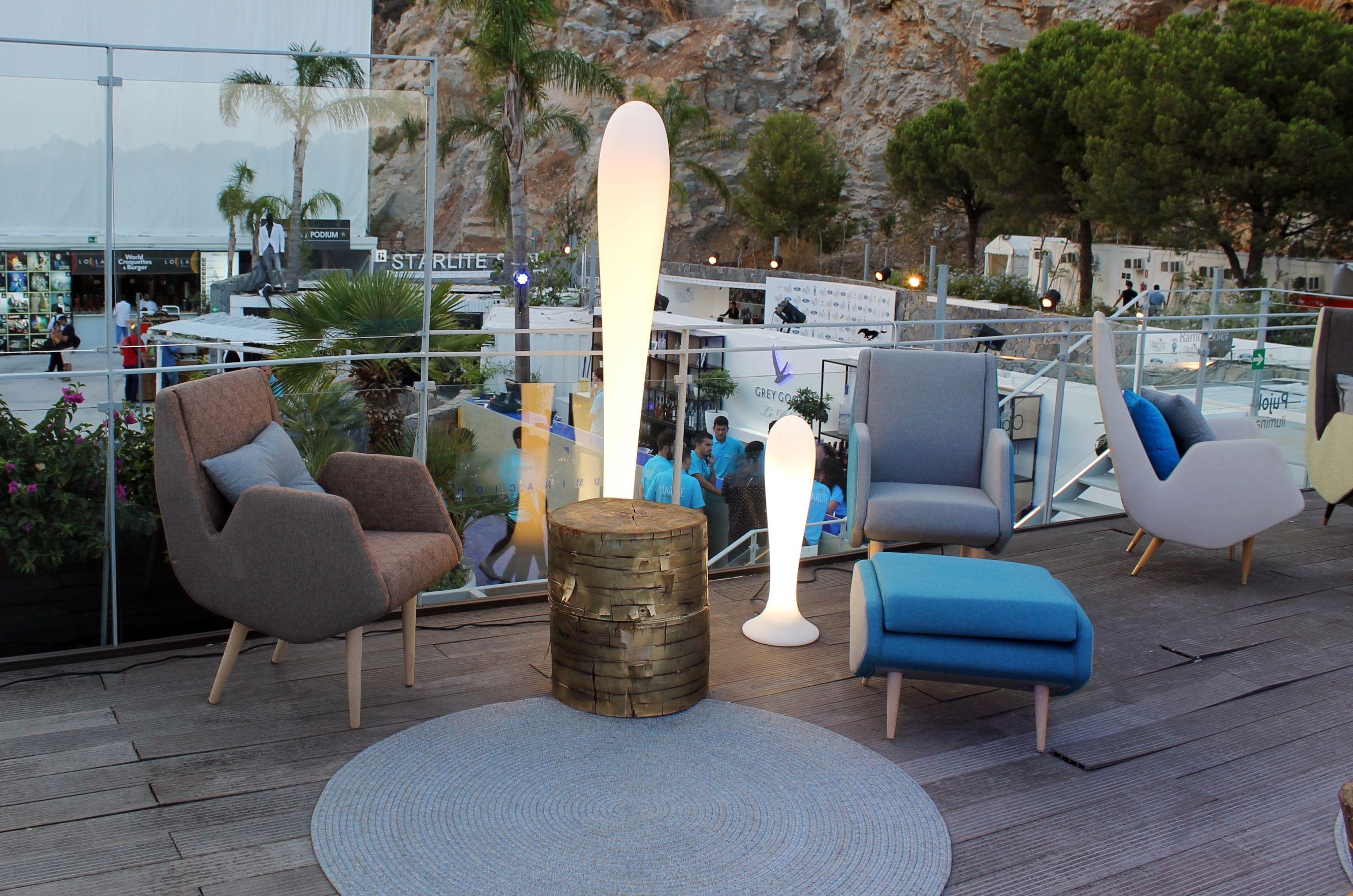 Terraza Lounge Vip De Starlite Marbella Con La Colección